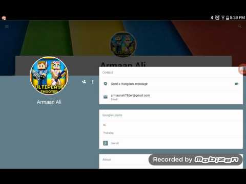 How to change google picture on samsung tab 3