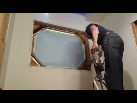 Window replacement. Bathroom Remodeling. Part 4.