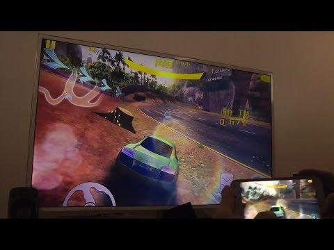 Asphalt 8 Samsung Galaxy S5 SMART TV HD Gameplay Test