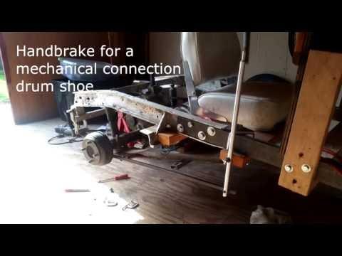 DIY Cycle Car - Handbrake