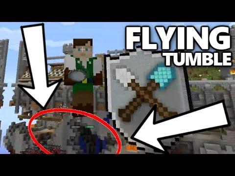 FLYING TUMBLE Mini Game - Minecraft Xbox