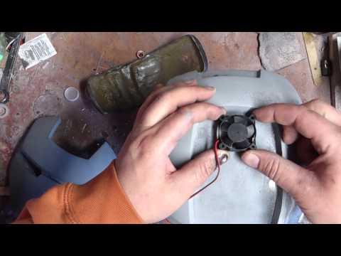 Helmet cooling