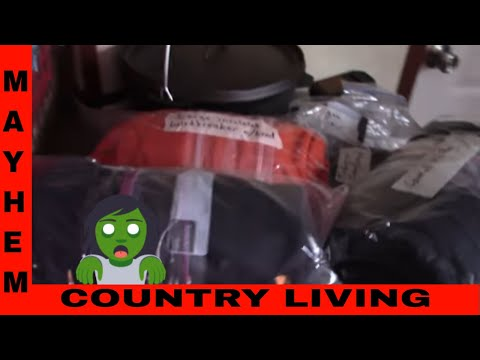 How we store our prepping clothing gear