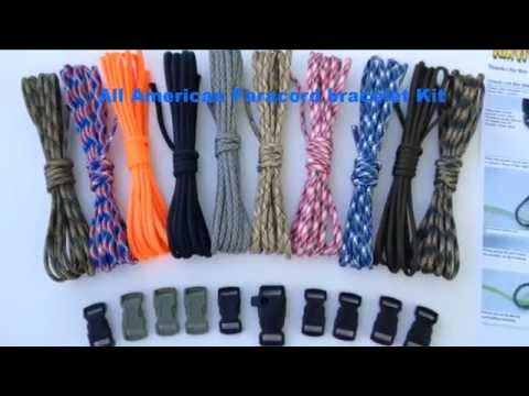 USA Paracord Bracelet kit Product Review
