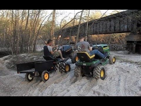 Mud Mowers River Ride Part 2