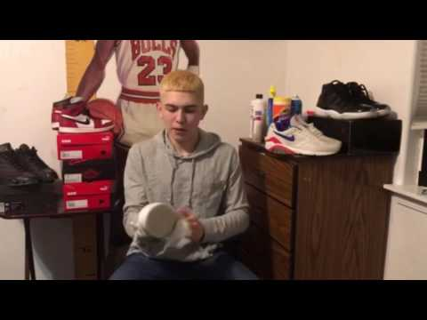HOW TO CLEAN SHOES CHEAP AND FAST! Ft.Akbar