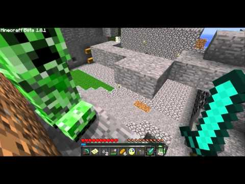 Minecraft: Duncan The Friendly Creeper And Others!