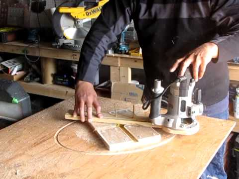 how to make a Ellipse/How to Use Wood Routers How to Make a Circle with a Router,How to make an Oval
