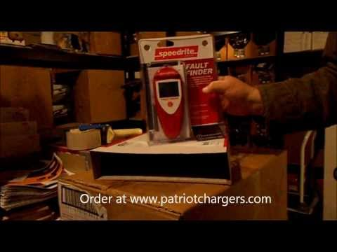 The Speedrite Electric Fence Fault Finder/ Fence Tester from www.patriotchargers.com