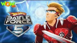 Hot Wheels Battle Force 5 | Starting Line | In Hindi | Ep 1 | Wow Kidz