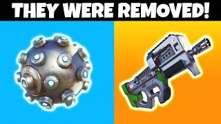 8 Things That Were Removed From Fortnite 😢