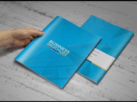 Business Brochure 14 Page Template
