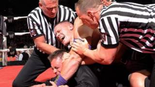 Raw: Cena crashes The Miz