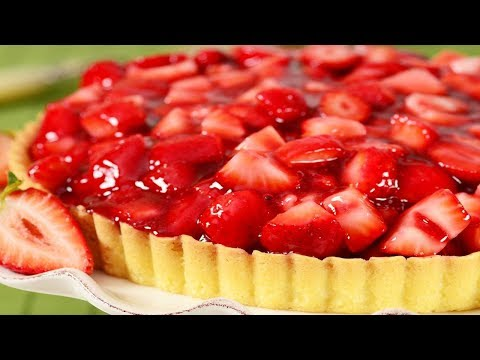 Strawberry Pie Recipe Demonstration - Joyofbaking.com