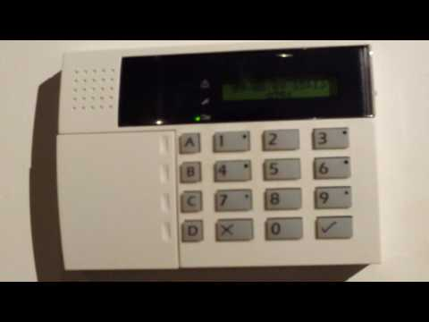 Reset the code on  the Scantronic 9751 Alarm System