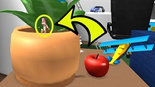 Roblox: HIDING INSIDE A PLANT!!! - HIDE AND SEEK EXTREME!