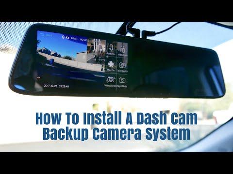 How To Install A AKASO Dash Cam Backup Camera System