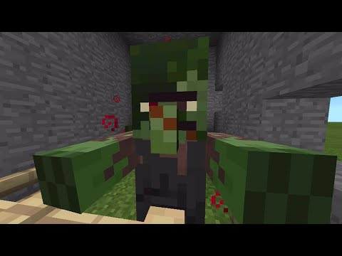 Minecraft Pocket Edition - 0.12.1 Update! - New Zombie Villagers - Tutorial