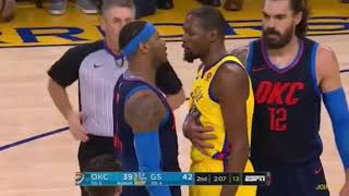 Every Warriors vs Thunder BEEF/FIGHT MOMENTS Since Kevin Durant Joined The Warriors