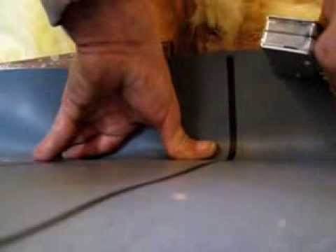 how to make and install a shower pan liner wetbed for a ceramic tile shower floor
