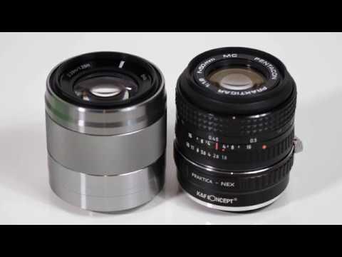 Sony E 50mm F/1.8 OSS vs Cheap $1 lens from eBay Sharpness Test