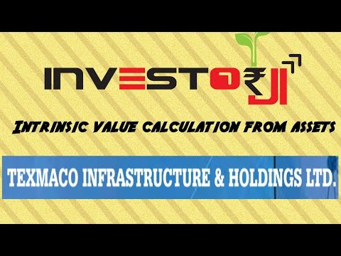 Texmaco Infra and Holdings Asset Based Valuation of Intrinsic Value