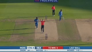 T20 Highlights - England v India, Edgbaston - England win by three runs