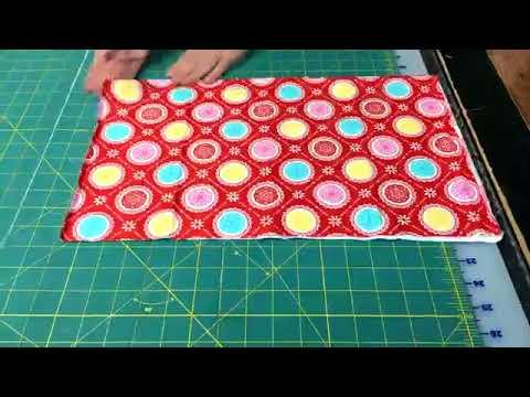 How to Fold a Fat Quarter!