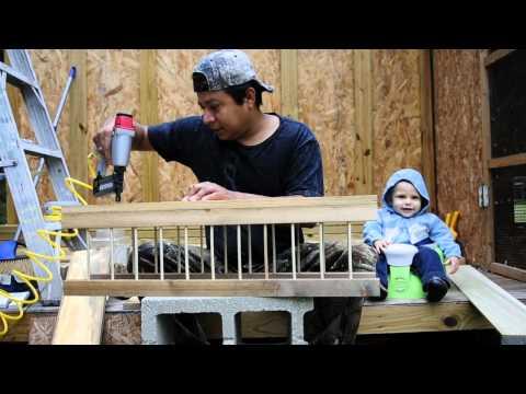 Ethan's bird feeder,