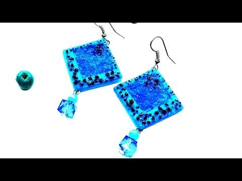 Easy Earrings Tutorial | DIY Jewelry - Polymer Clay