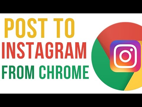 How to Upload photos to Instagram from Google Chrome #115
