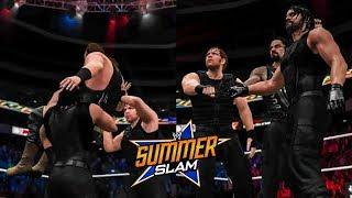 WWE Top 10 Summerslam 2017 Predictions (WWE 2K17)