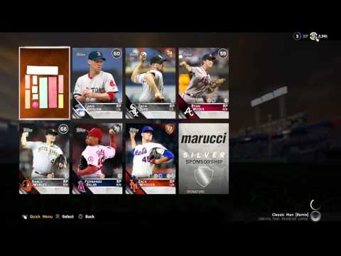 MLB The Show 16 5 Pack opening!