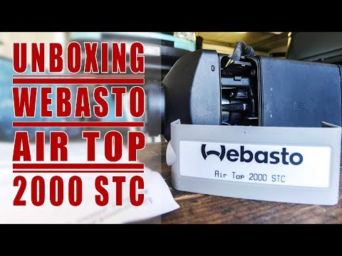 Unboxing Webasto Air Top 2000 STC: Vanlife Upgrades