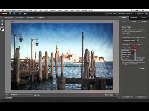 Photoshop Elements Tutorial: Adding Borders and Textures
