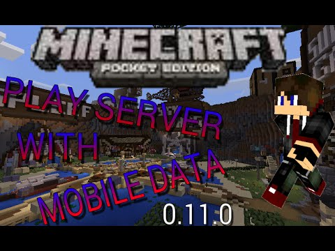 [0.11.0] HOW TO PLAY ANY MCPE SERVERS WITHOUT WIFI!! - Minecraft: Pocket Edition