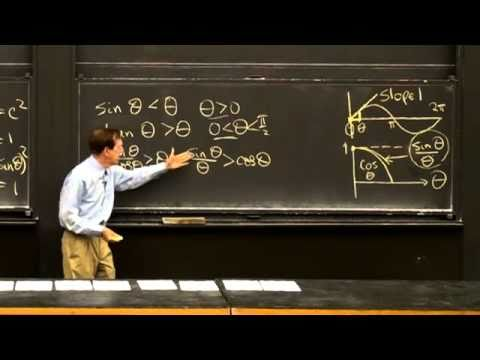 Derivative of sin x and cos x | MIT Highlights of Calculus