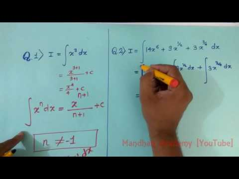 Integration Basics Power Rule Formula Explained :) :)
