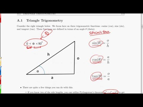 MV3D Appendix A.1 - Triangle Trigonometry