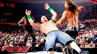John Cena & The Undertaker vs. D-Generation X vs. Jeri-Show: Raw, November 16, 2009