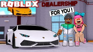 BUYING MY GIRLFRIEND A $1,000,000 CAR IN ROBLOX
