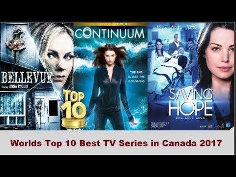 Worlds Top 10 Best TV Series in Canada 2017
