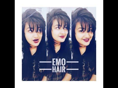 EMO HAIRCUT | HAIRCUT VLOG |MANAVI J