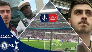 CHELSEA V SPURS 4-2 (22.04.17)   A FAN EXPERIENCE (FA Cup semi-final 16/17) #CupStory @EmiratesFACup