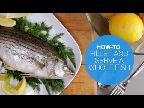 How to fillet and serve a whole cooked fish | Canadian Living