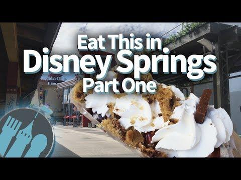 Eat This in Disney Springs Part One!