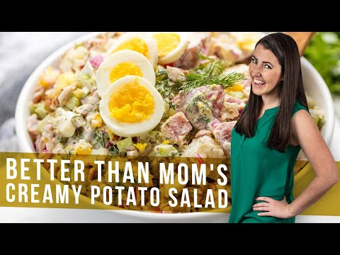 How to Make Creamy Potato Salad | The Stay At Home Chef