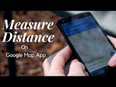 Measure Distance With Google Map App
