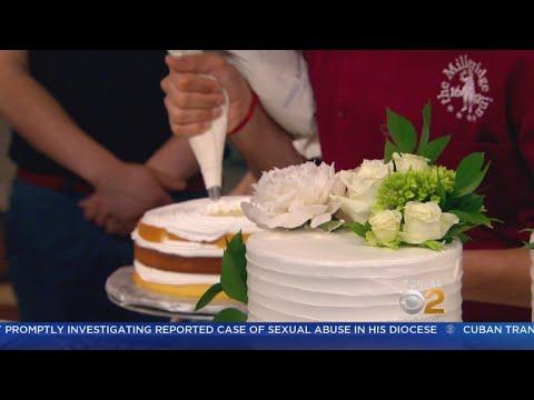 Get A Royal Taste Of Lemon Elderflower Tiered Wedding Cake