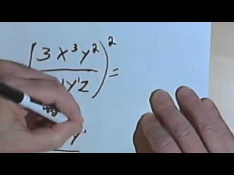 Exponents and Parentheses worksheet - bc